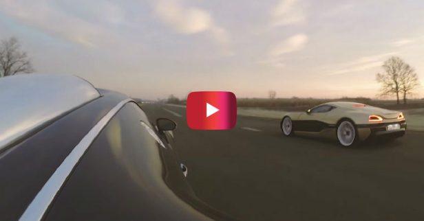 Bugatti Veyron vs. Electric Hypercar Drag Race Ends in Epic Fashion