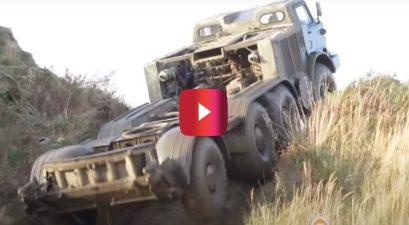 soviet military power truck