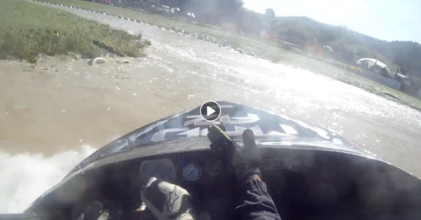 Crazy-Fast Speedboat Rips up Hairpin Turns in Wild Action Video