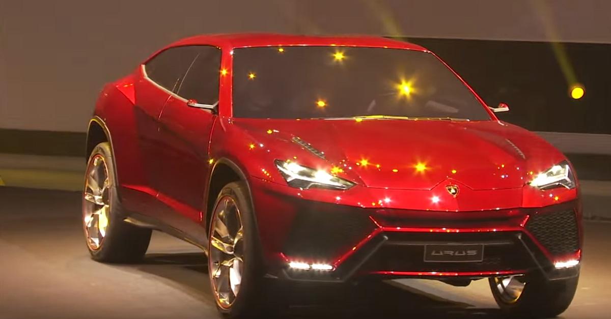 Lamborghini's highly anticipated SUV finally starts ...