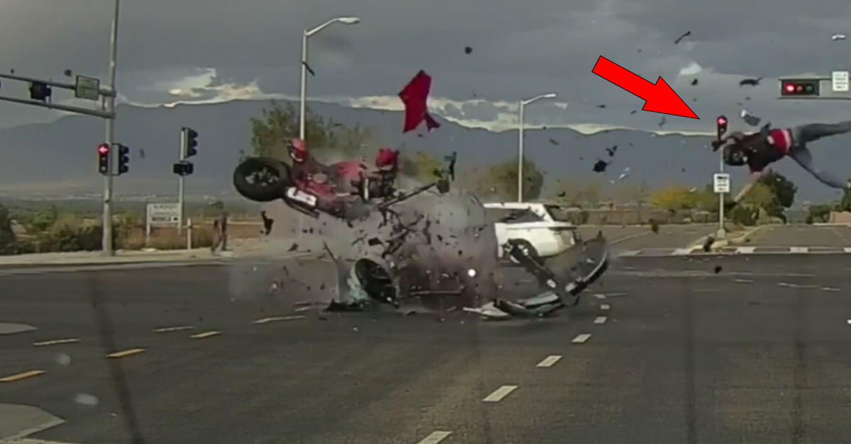 """""""Anatomy of a Motorcycle Crash"""" shows catastrophic result of left turn blind spot"""