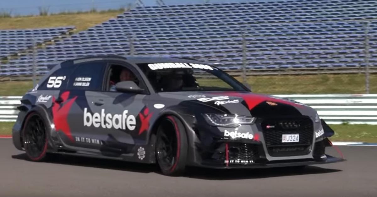 1000 hp Audi RS6 DTM roars like just like a lion