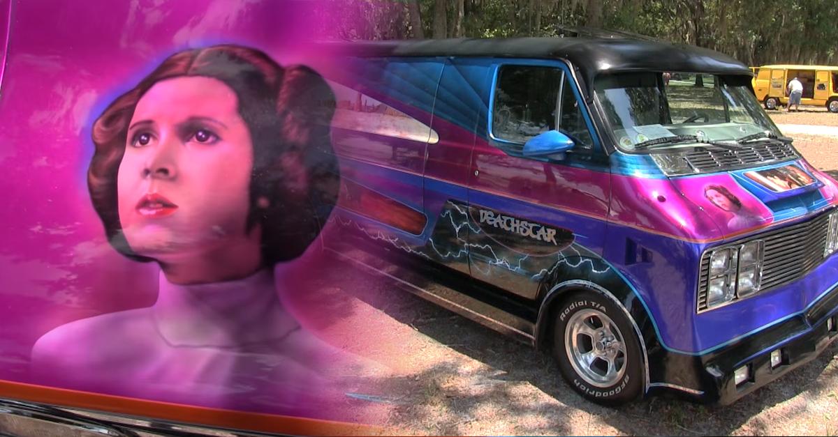 "Star Wars super fan customized a Dodge van — Presenting the ""Deathstar"""