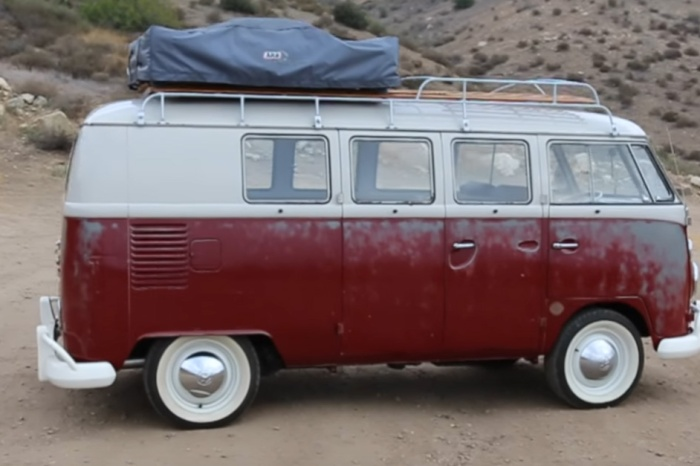 Derelict VW bus is a fully restored dream car in disguise