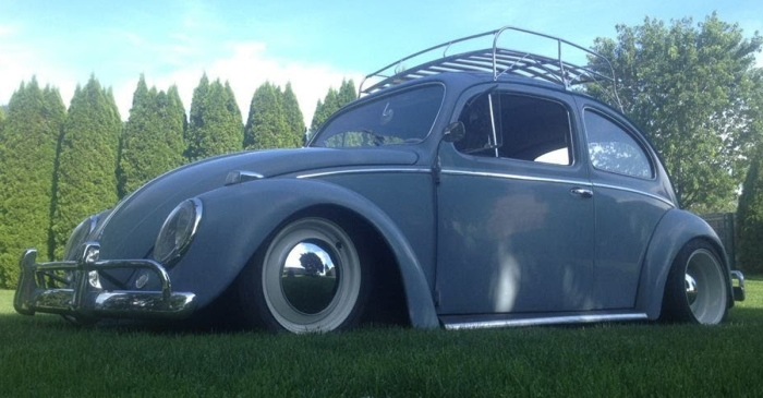 Custom 1959 Turbo Beetle with 300+ hp sounds lean and mean on its first test drive