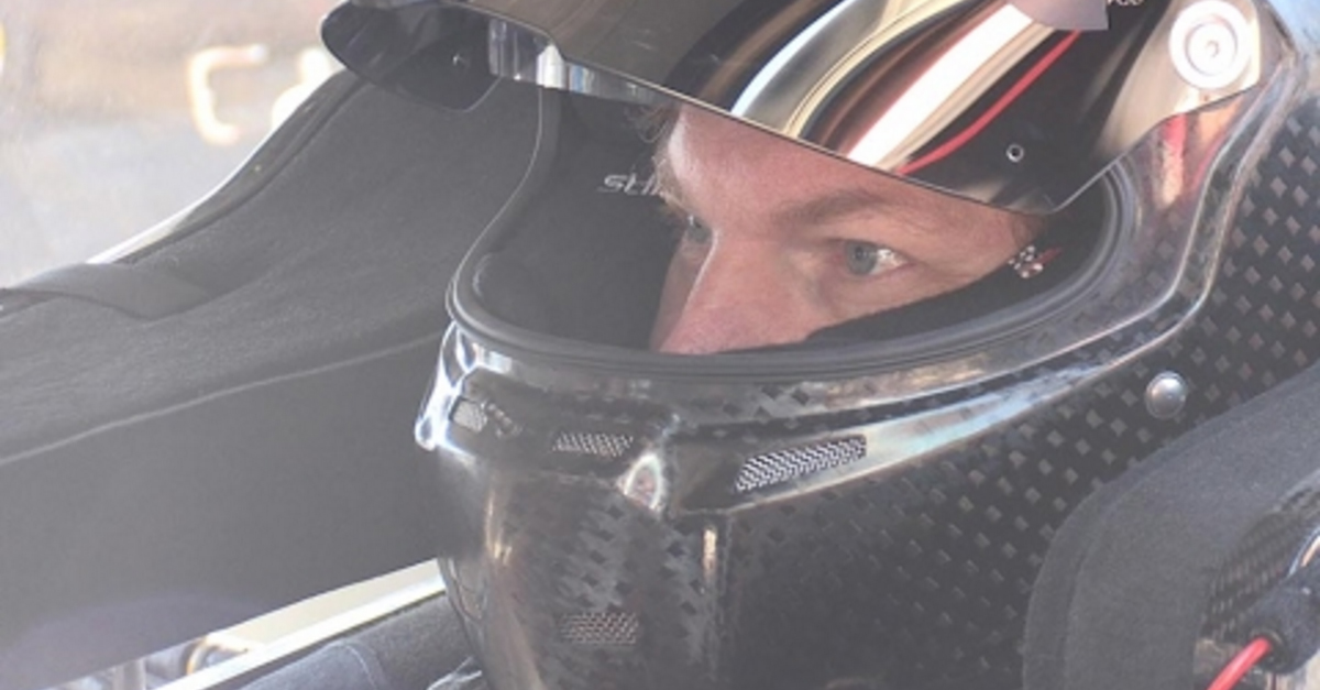 Dale Earnhardt Jr. is spotted back and testing at Phoenix Raceway