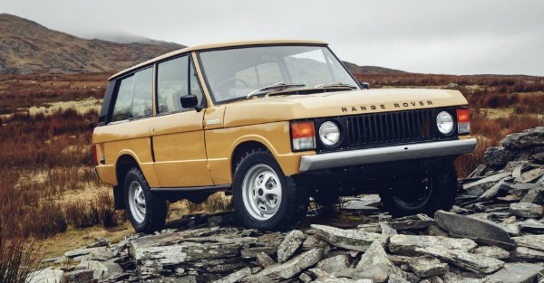 You can buy a brand new, 39 year old Range Rover