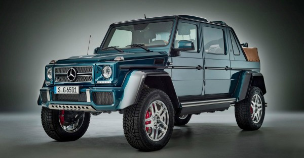 Maybach's entry into the luxury off-road market is as extravagant as you'd expect