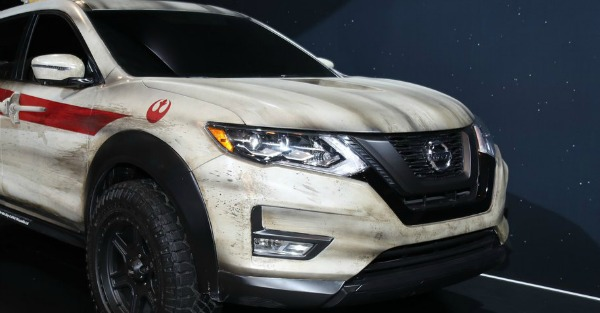 Star Wars inspired Nissan Rogue is cringe-worthy and awesome