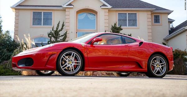 Which U.S. President's signature can double a Ferrari's value?