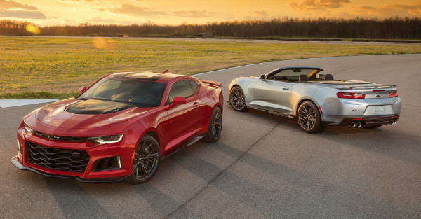 The Camaro ZL1 can do what a Corvette can't