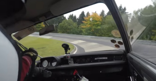 This ratty old Civic is a blast on track