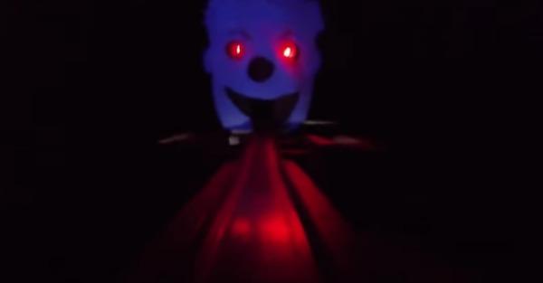 Take a trip into a nightmare atop a Hot Wheels car