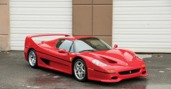 If you want a car that packs a punch, Mike Tyson's Ferrari F50 is for sale