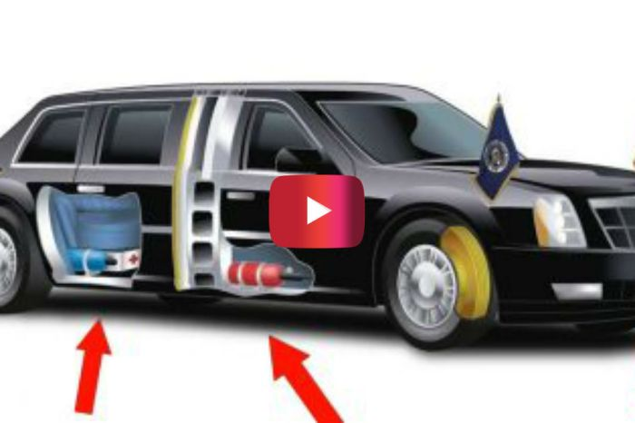 10 Surprising Secrets You Didn't Know About Donald Trump's Presidential Limo