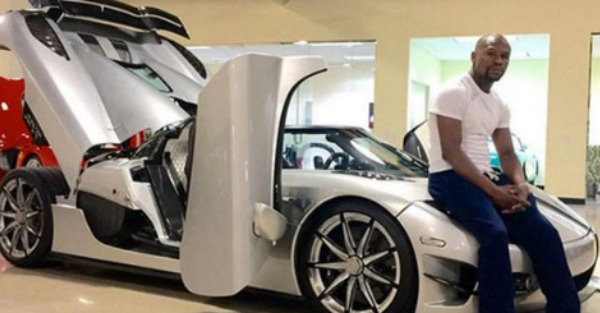 Floyd Mayweather is about to put this rare car on the market