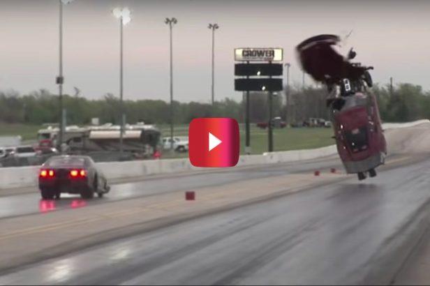 4,000-HP Corvette Gets Brutally Wrecked in Drag Race