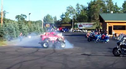 600-hp midget truck