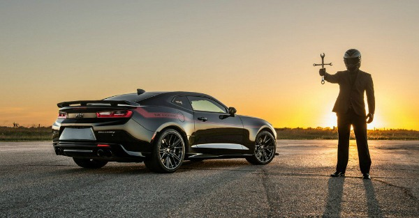 Hennessey's Exorcist Camaro ZL1 is born, Demons beware