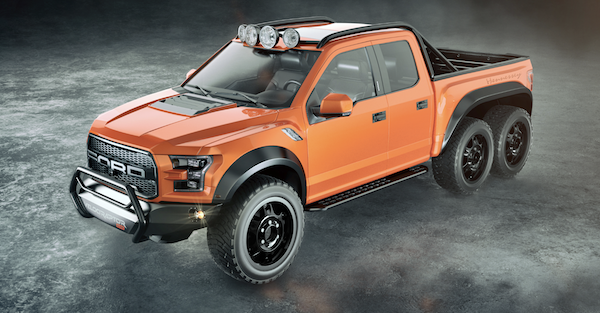 The next-gen Velociraptor 6×6 is all the truck you'll ever need and more