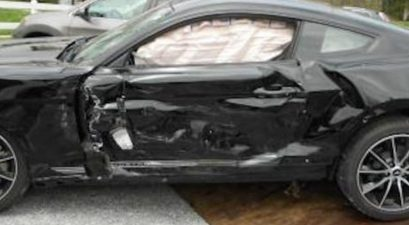 mustang owner blames squirrel for crash