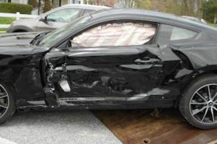 Mustang Owner Blames Squirrel for Crash