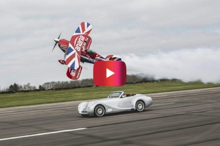 Morgan Aero 8 vs. Muscle Biplane in Amazing Race