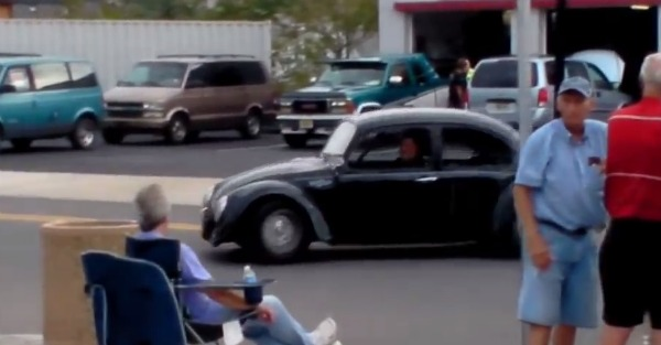 The VW Beetle can reach nearly three times its original top speed