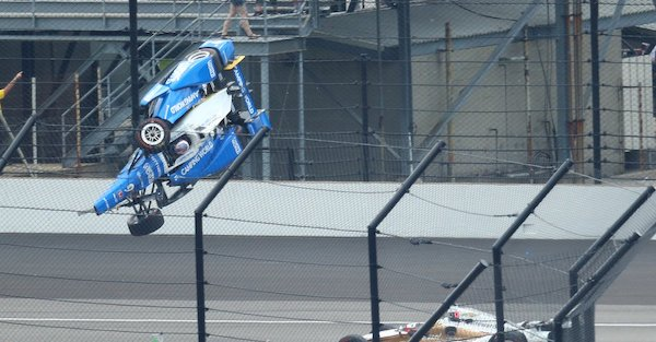 Relive the Indy 500's nastiest wreck with the man who saw it best