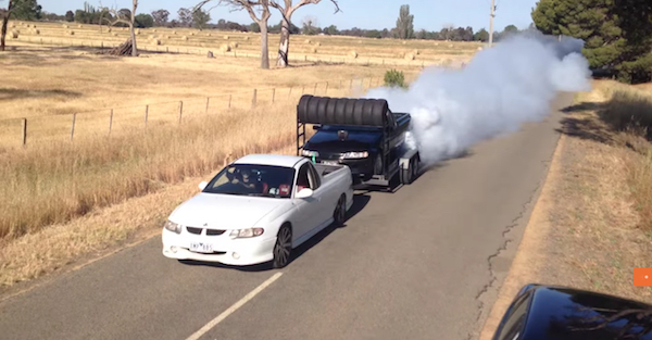Utes on Utes make for an Aussie-inception burnout