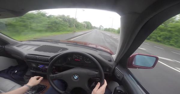 Instant Karma stars in this street drift clip