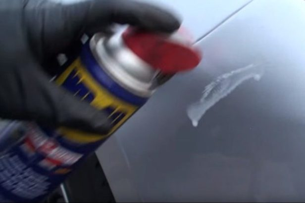 Is WD-40 Actually an Effective Scratch Remover? This Guy Tests It Out