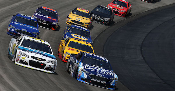 """NASCAR driver gets booed, tells fans """"I'm a F***ing person"""""""