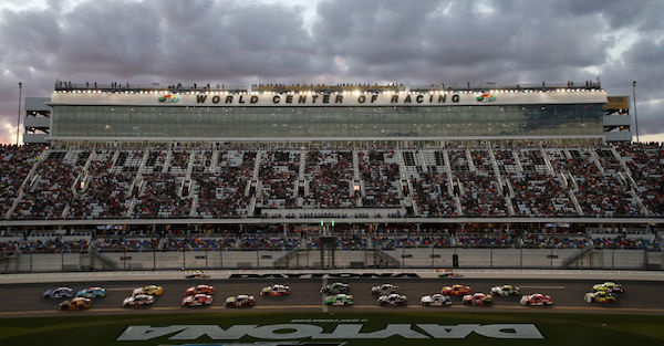 Police investigated a bomb threat made to Daytona International Speedway during practice