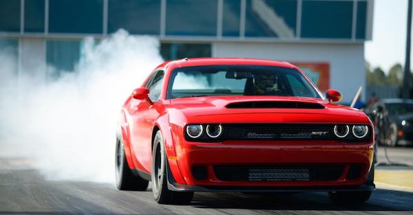 Dodge doesn't want you to drive your Demon if it gets too cold
