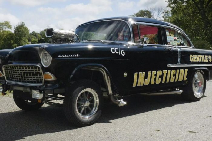 Restoring a '55 Ford Is This Former Drag Racer's Dream Project
