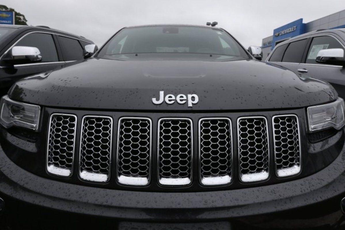 jeep at dealership