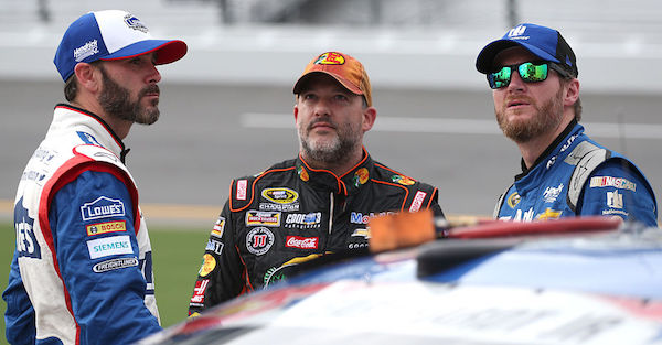 Two NASCAR legends are upset about debris caution flags