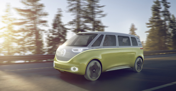 There is huge news about the new VW Microbus
