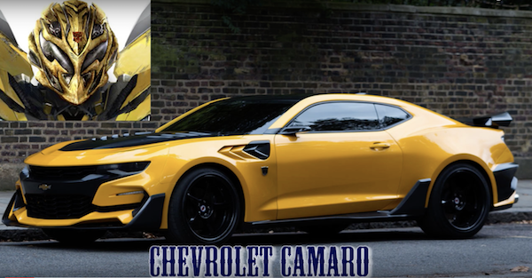 Bumblebee will not be a Camaro in the new Michael Bay-free Transformers