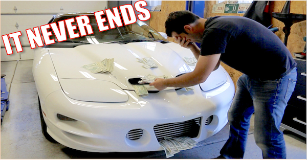 Rebuilding a 1,000 horsepower Turbo engine isn't cheap