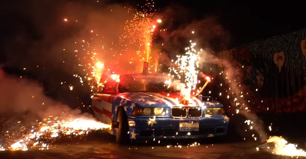 The guys at Hoonigan did 4th of July right
