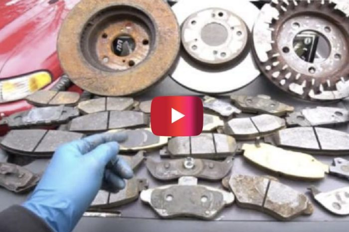Car Expert Shows How to Stop Brakes From Squeaking
