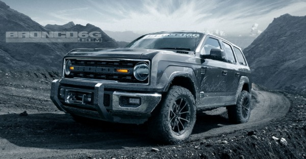 The latest renders reveal awesome features for the new Ford Bronco