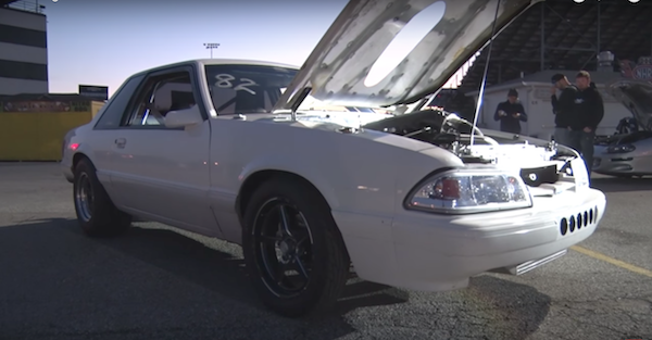 You have never seen a 5.3L Fox Body go this fast in the quarter