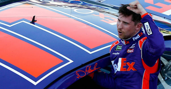 Denny Hamlin jumps into Twitter fray and slams a rival driver