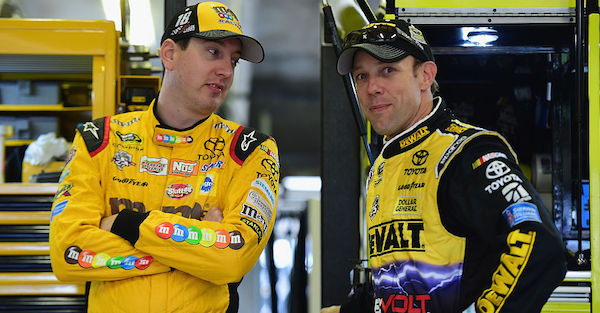 """Playoff contender said the end of the Brickyard 400 was """"ridiculous"""""""