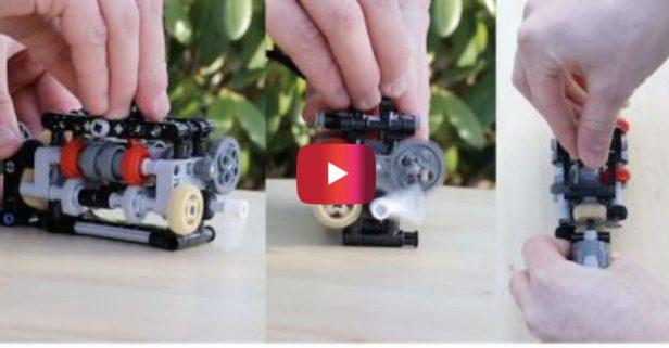 This Incredibly Intricate Lego Gearbox Is a Modern Marvel