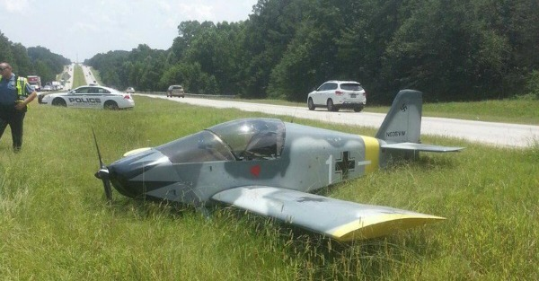Atlanta meets its latest traffic nightmare: Nazi airplanes
