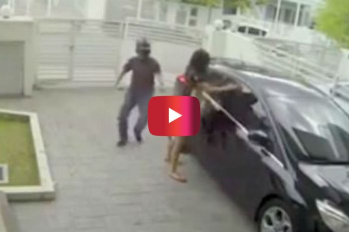 Thieves Targeted This Woman…Not Knowing She Was an MMA Fighter